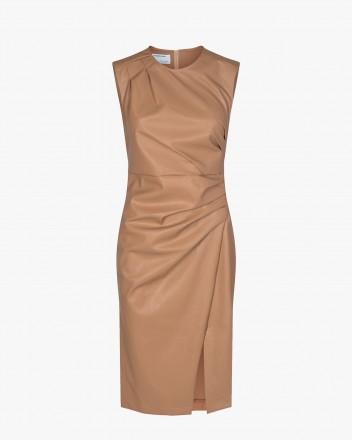 Marie Pleat Dress