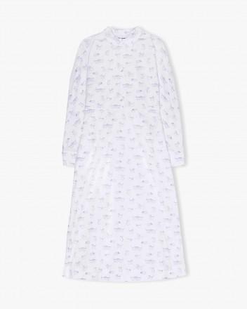 Printed Cotton Poplin Dress...