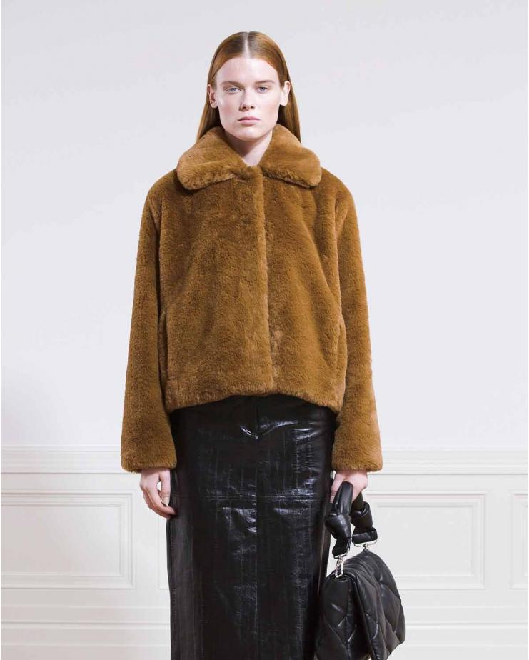 Marcella Coat Faux Fur