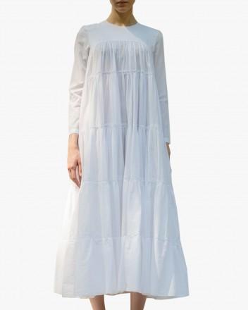 Amrita Dress in White