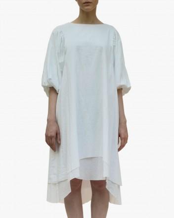 Shanti Dress in White