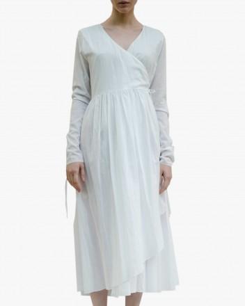 Neha Dress in White