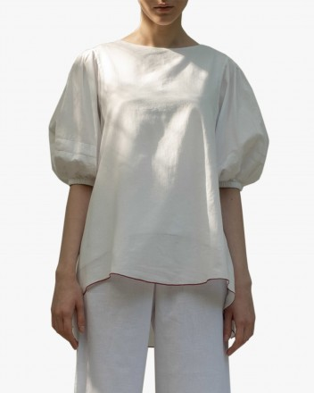 Dhara Top in White