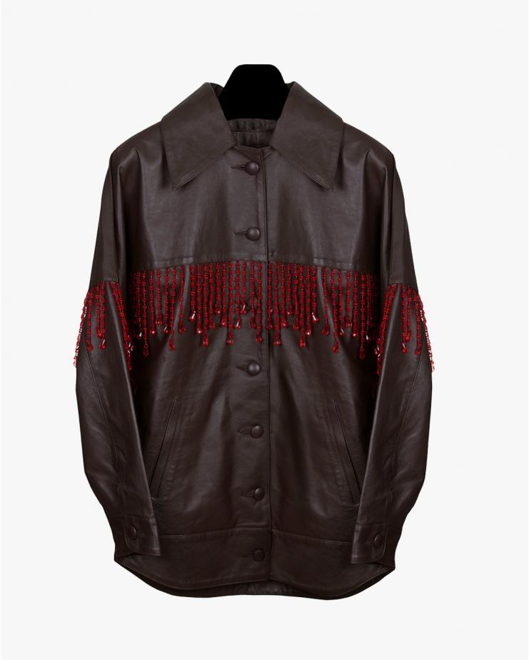 Donatella Jacket in Brown