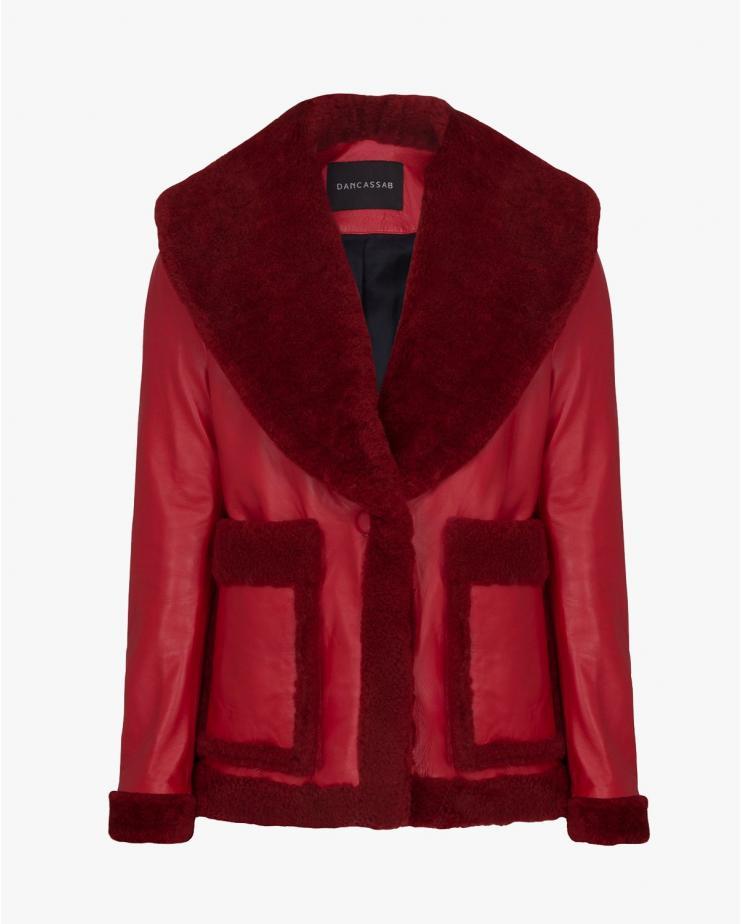Floyd Jacket in Red