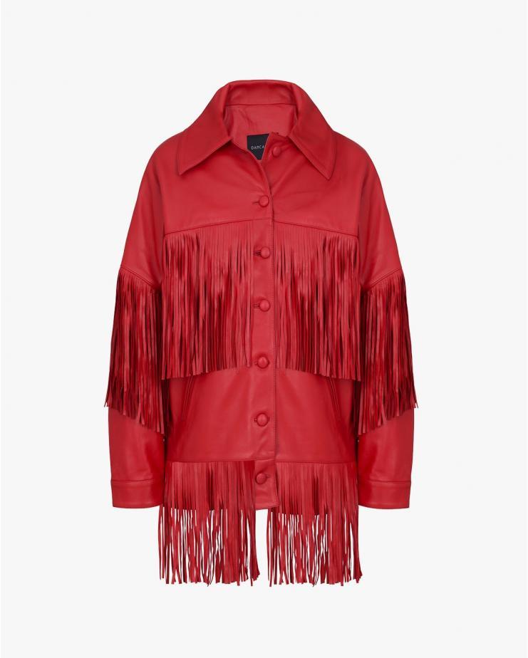 Loretta Jacket in Red