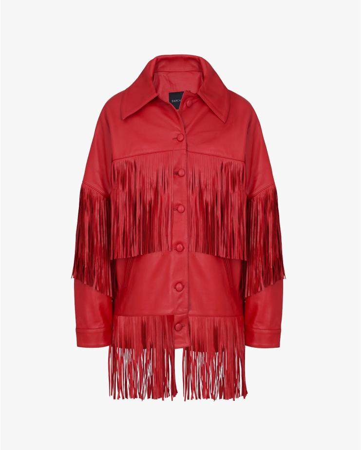 Loretta Jacket in Red
