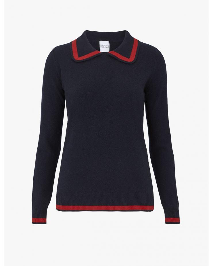 Mars Sweater in Navy