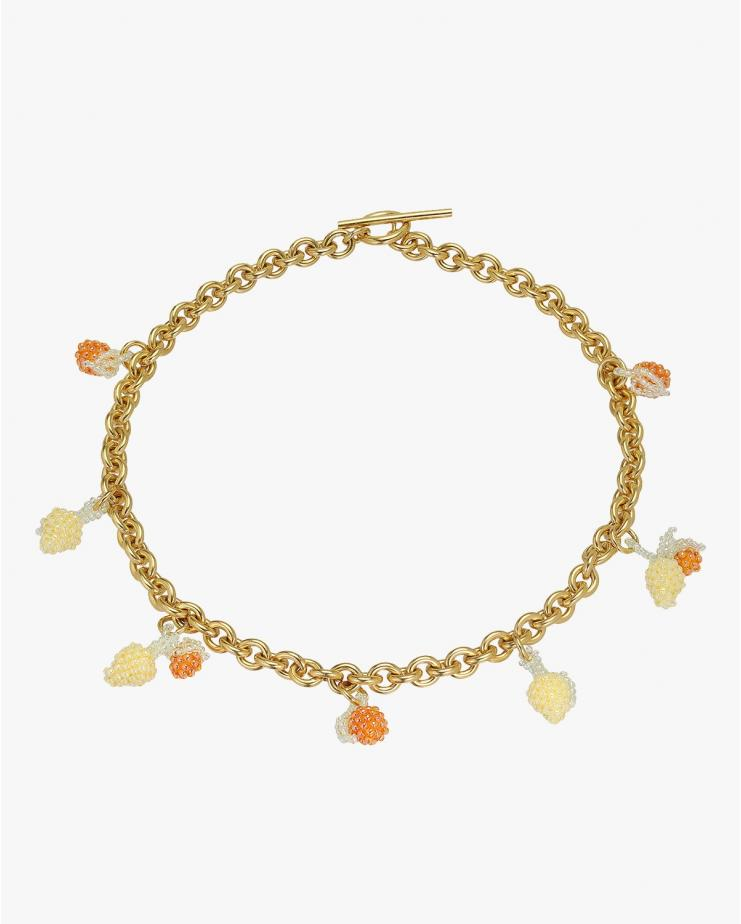 Medium Chunky Oranges Necklace