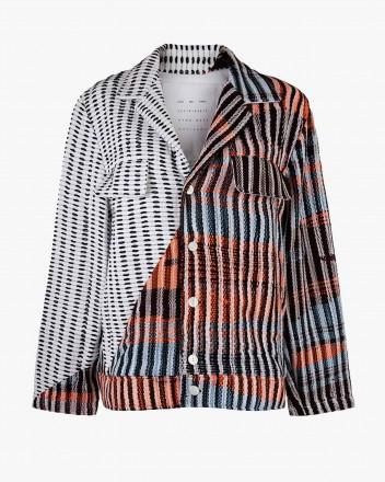 Oversized Contrast Jacket