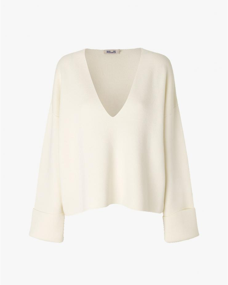Coalbee Sweater in White
