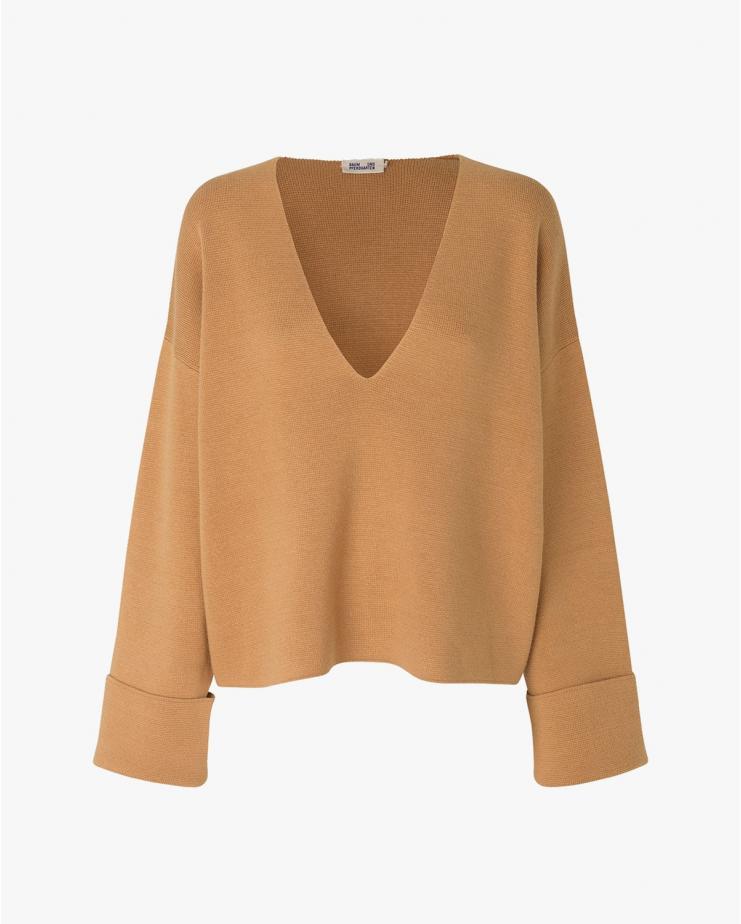 Coalbee Sweater in Camel
