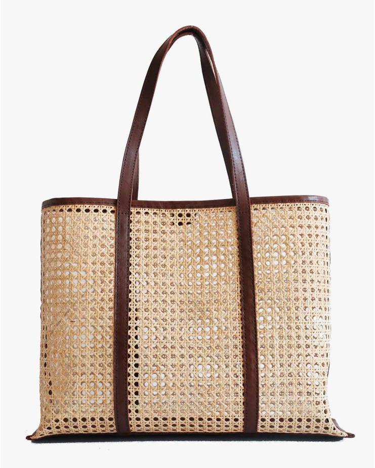 Margot Large Bag in Chocolate