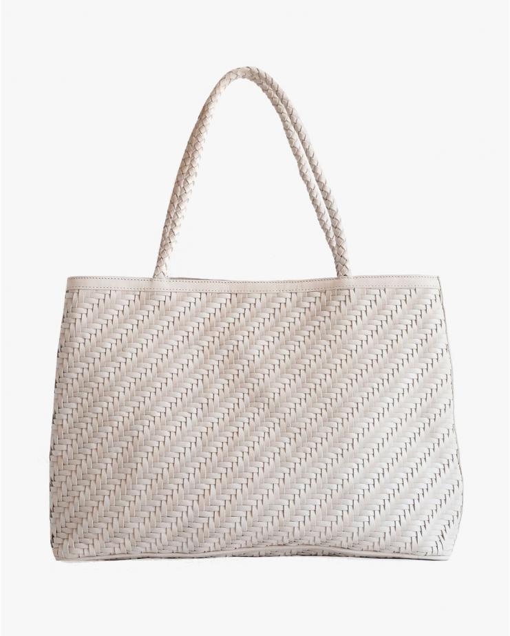 Gabrielle Bag in Pearl