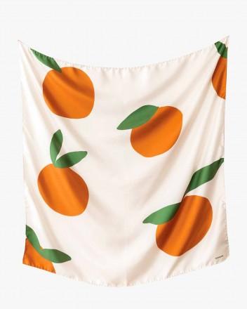 Soleil Scarf in Clementine