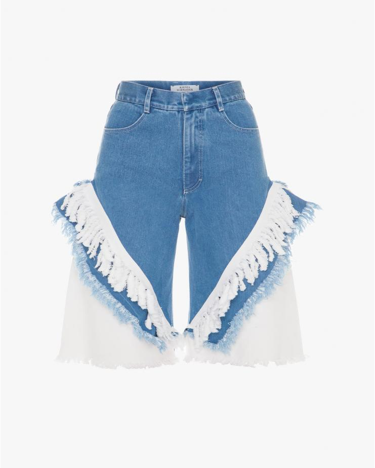 Fringed Cowboy Shorts