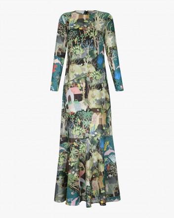 Catalina Dress in Selva Print