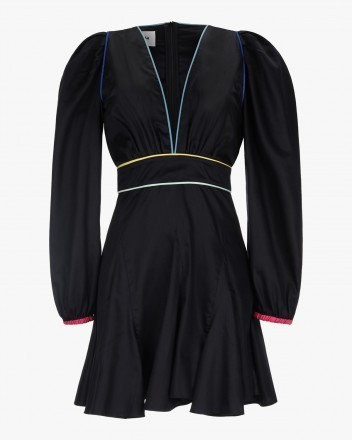 Bora Dress in Solid Black