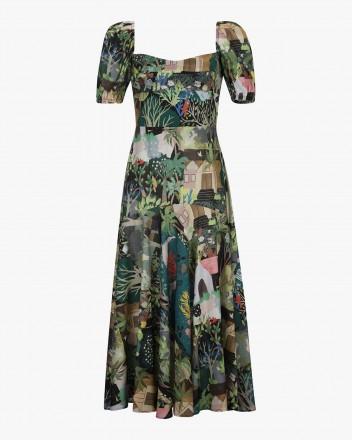 Sidra Dress in Selva Print