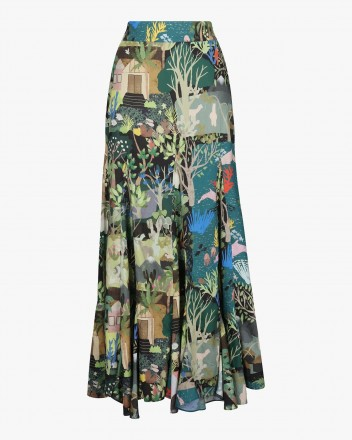 Nanay Skirt in Selva Print