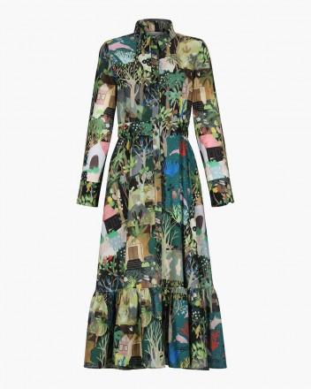 Ucayali Dress in Selva Print