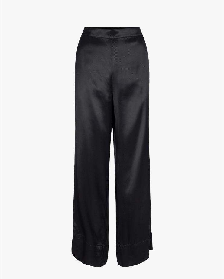 Frigg Wide Pants in Black