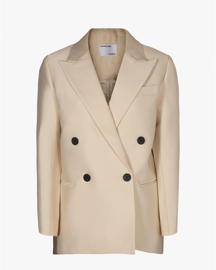 Hailey Blazer in Cream