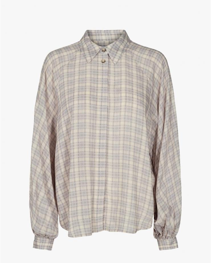 Ayoness Sleeve Shirt in Check
