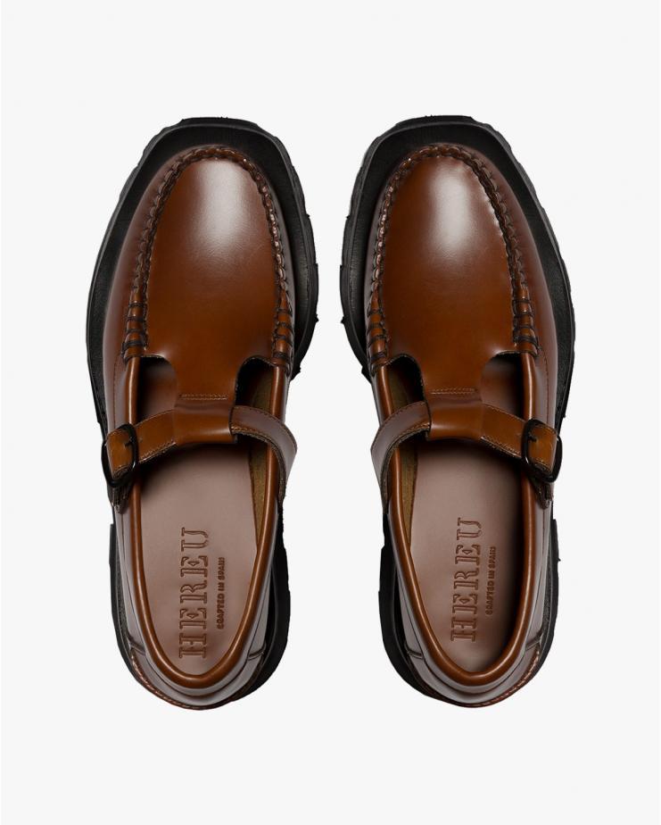 Alber Sport Loafer in Tan