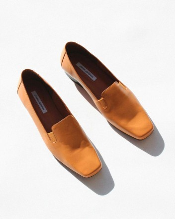 Fiona Loafer in Tobacco