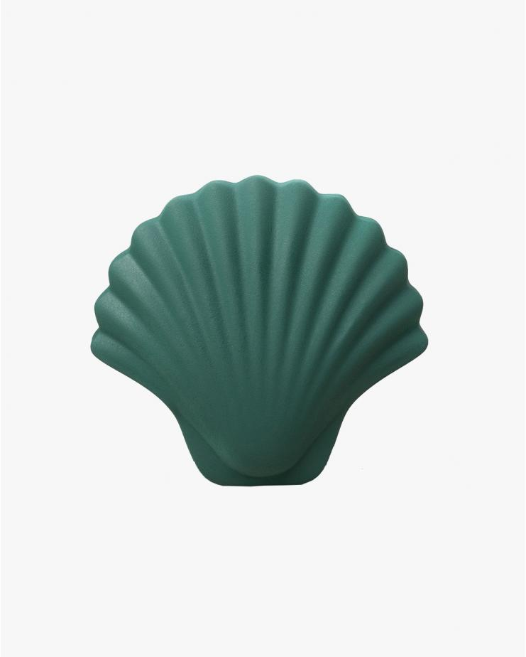 Seashell vase Green
