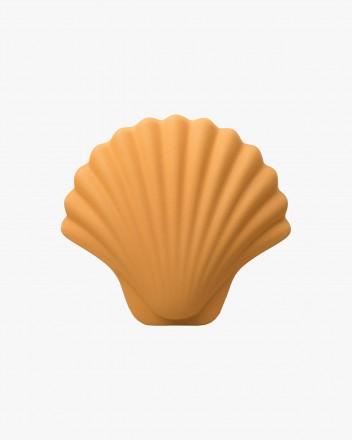 Seashell vase Gold