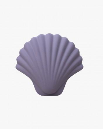 Seashell vase Purple
