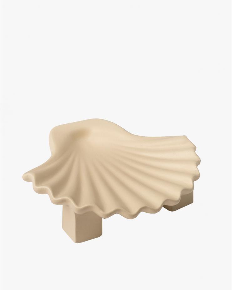 Seashell plate Neutral