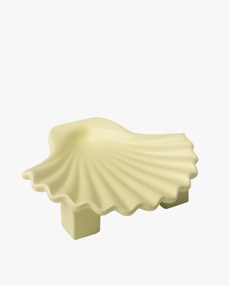 Seashell plate Green