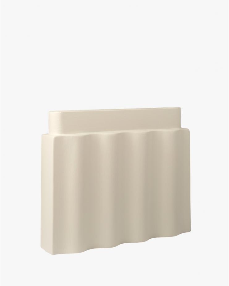 Waves vase White