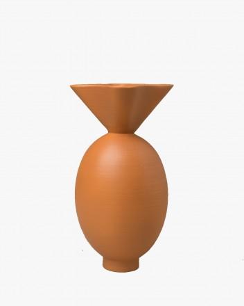 Von vase Terracotta