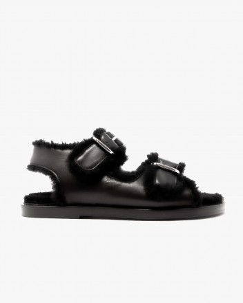 Meribel Sandal in Black