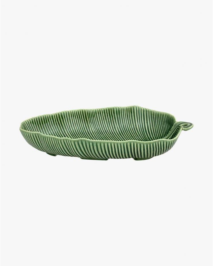 Leaves Green Banana Leaf Salad Bowl 39