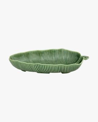 Leaves Green Banana Leaf Salad Bowl 39