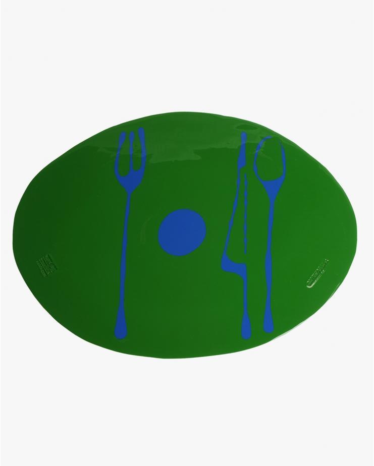Placemat Table-Mate in Matt Green Blue