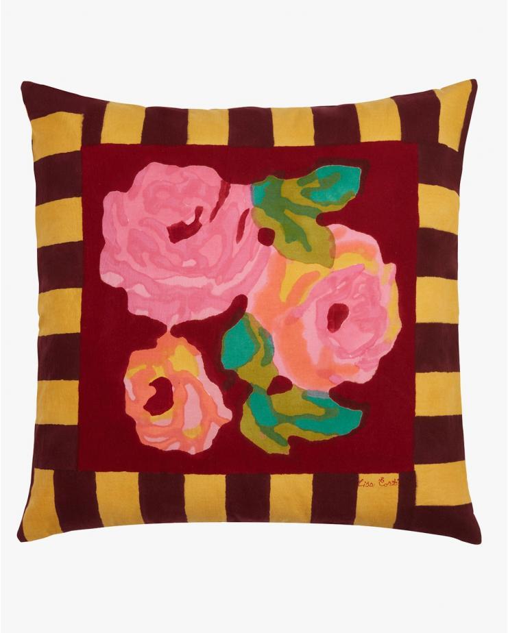 Pillow Cover 45x45cm Nizam Stripes Mustard
