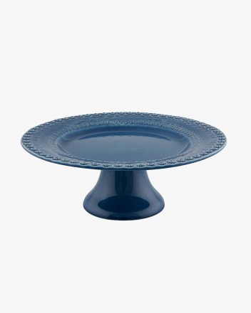 Fantasy 28 Blue Pie Dish
