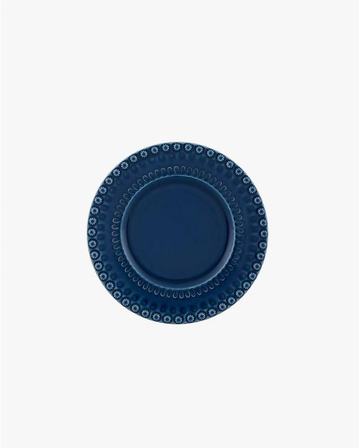 Fantasy Dessert Plate Blue 22