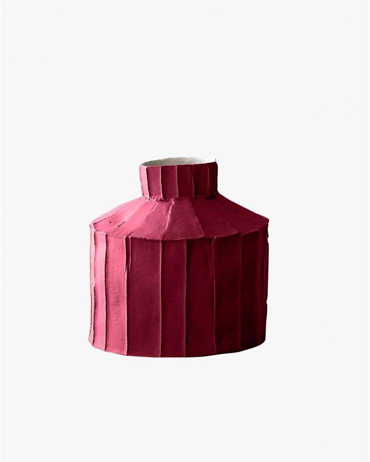 Fide Vase Burgundy