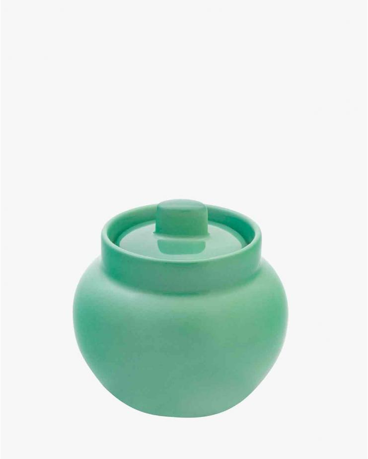 Colours Sugar Bowl in light green