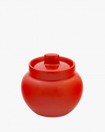 Colours Sugar Bowl in red