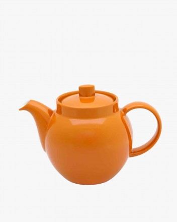 Colours Teapot in light orange