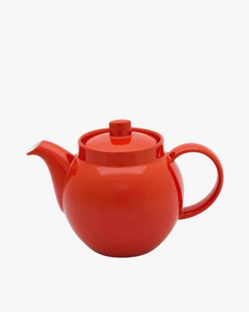 Colours Teapot in red