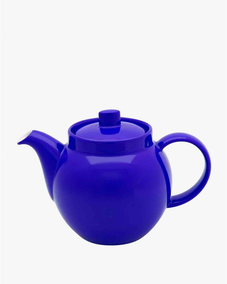 Colours Teapot in bright blue